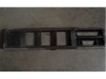 78-79 Dash Bezel - Black - Fits models w/o radio and factory AC