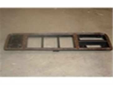 78-79 Dash Bezel - Chrome/ Woodgrain - Fits models w/o radio and factory AC