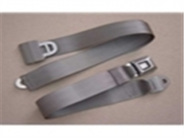 66-96 Replacement Seat Belt - Gray