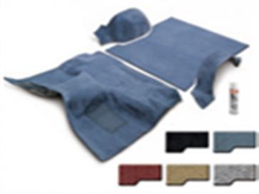 80-96 Molded Carpet Set - Complete - Saddle