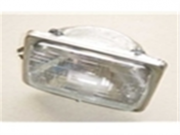 80-86 Headlight Bucket Assembly - LH - Halogen