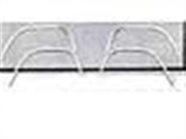 80-86 Wheel Arch Molding - Rear - LH
