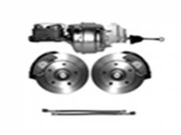 65-72 Complete Power Disc Brake Kit - 5 on 5 1/2