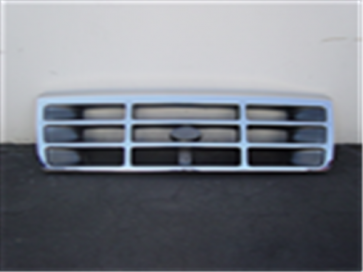 92-96 Grille - Chrome/Gray