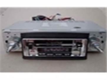 68-86 AM/FM Stereo w/ Ford Logo - Model 3
