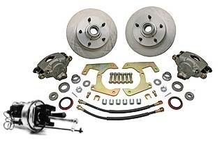 48-56 Complete Power Disc Brake Kit - 5 on 5 1/2