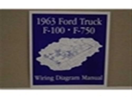 TE 0088 1963 ford truck wiring diagram manual