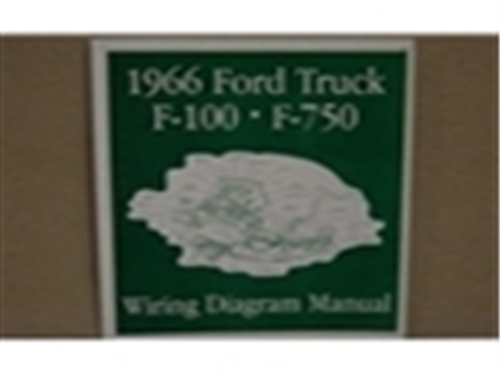 [QMVU_8575]  1966 FORD TRUCK WIRING DIAGRAM MANUAL - Wiring Diagram Manuals - Text - F  Series | 1966 Ford Truck Wiring Diagram |  | www.f100central.com