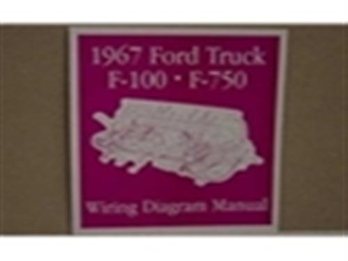 1967 FORD TRUCK WIRING DIAGRAM MANUAL - Wiring Diagram ...