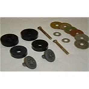78-79 Radiator Core Mounting Kit - 16pc