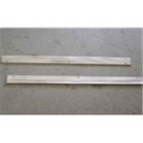 80-86 Door Sill Plate Set - Aluminum