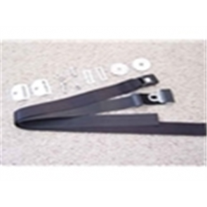 66-96 Seat Belt Kit - Black