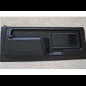 80-86 Door Panel Set - Black  - MW w/o PD