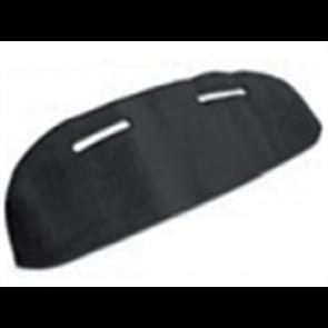 78-79 Velour Dash Protector - Black
