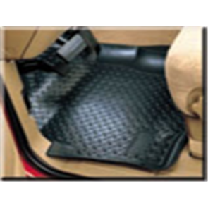 80-96 Rear Floor Liner Set - Black
