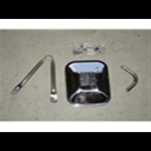 Mirror Tripod - Stainless 7 1/2 x 10 1/2