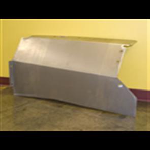 53-56 Custom Smooth Inner Fenders – Galvanized Steel - Pair