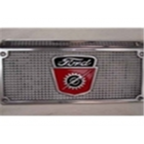 48-56 Step Plate - w/ Ford Pickup Crest – Aluminum