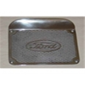 48-56 Step Plate - w/ Ford Oval – Aluminum