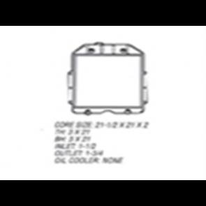 48-52 Radiator - Flathead V8
