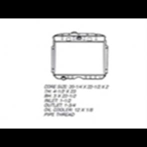 53-56 Radiator - V8