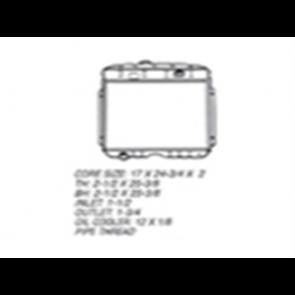 53-56 Radiator - 302 V8