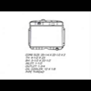 53-56 Radiator - 350 V8