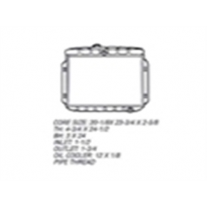57-60 Radiator - 6cyl