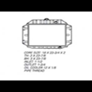 61-64 Radiator - 6cyl