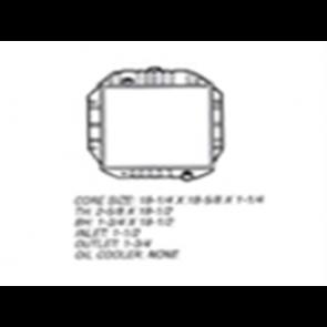 66 Radiator - 6cyl