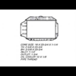 66 Radiator - 6cyl 2WD