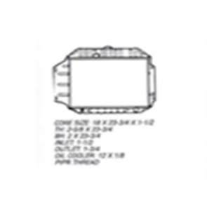 66 Radiator - 6cyl 4WD