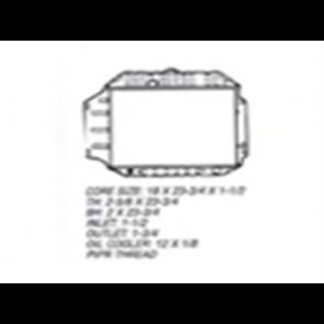 67 Radiator - 6cyl