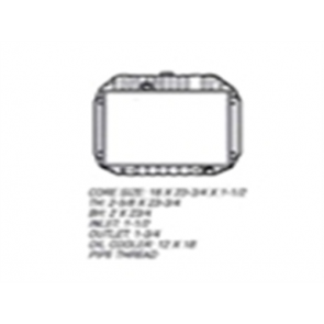 67 Radiator - 6cyl 2WD