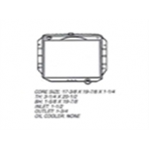 68-72 Radiator - 6cyl 2WD
