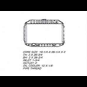68-72 Radiator - 360/390 V8 2WD