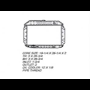 68-72 Radiator - 360/390 V8 4WD