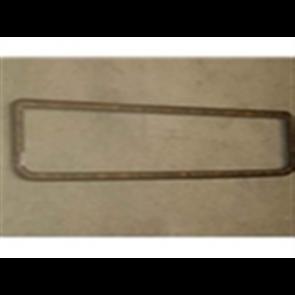 73-79 Glove Box Dash Trim - Chrome/Woodgrain