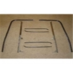 53-55 Beltline / Anti-Rattle Kit - Door