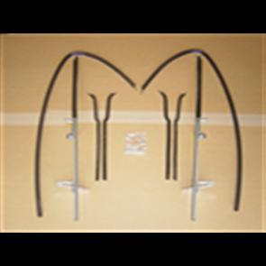 61-66 Beltline / Anti-Rattle Kit - Door