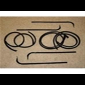67-70 Beltline / Anti-Rattle Kit - Door