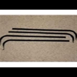 67-70 Beltline / Anti-Rattle Kit - Window