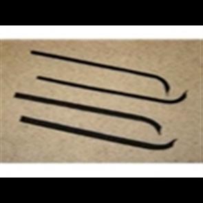 71-72 Beltline / Anti-Rattle Kit - Window - Fuzzy