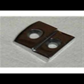 48-52 Door Striker Plate - Stainless Steel