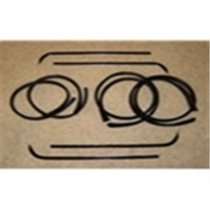 67-70 Beltline / Anti-Rattle Kit - Door - Stainless