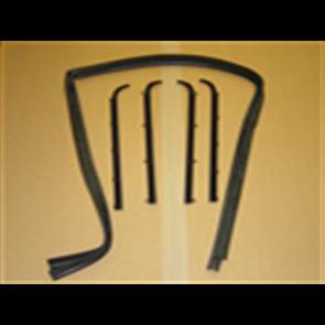 87-96 Beltline / Anti-Rattle Kit -Door - 6pc kit