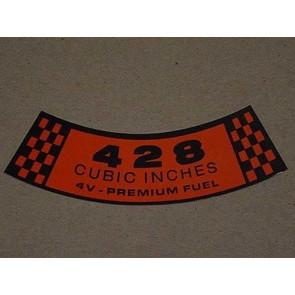 1966-67 428-4V PREM. FUEL A.C.D.