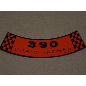 1968-69 390 CID A.C.D.