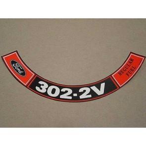 1970-71 302-2V REG. FUEL A.C.D.