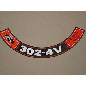 1970-71 302-4V PREM. FUEL A.C.D.